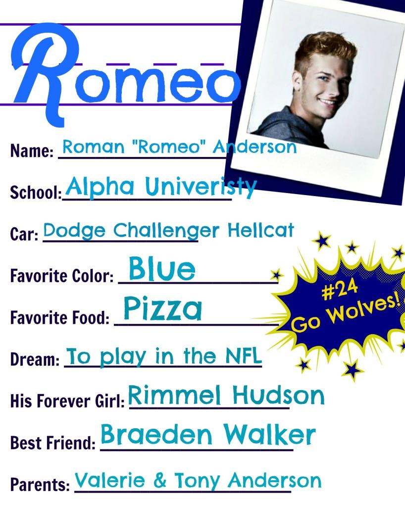 RomeoSheet
